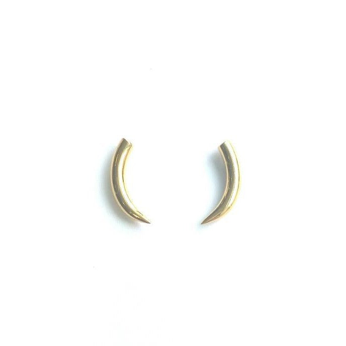 Tiny Tusk Stud Earrings