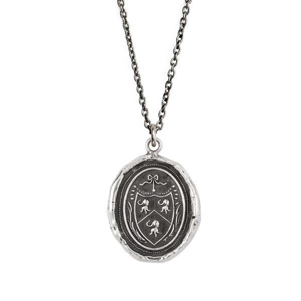 Longevity, Happiness and Good Luck Talisman Cable - Silver