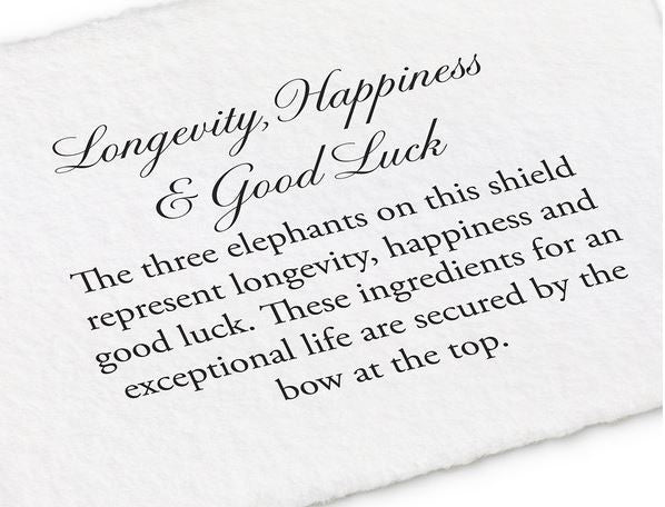 Longevity, Happiness and Good Luck Talisman