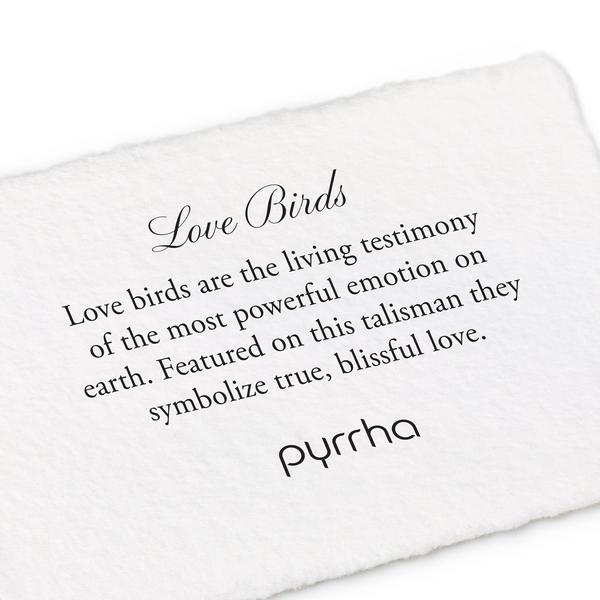 Love Birds Talisman