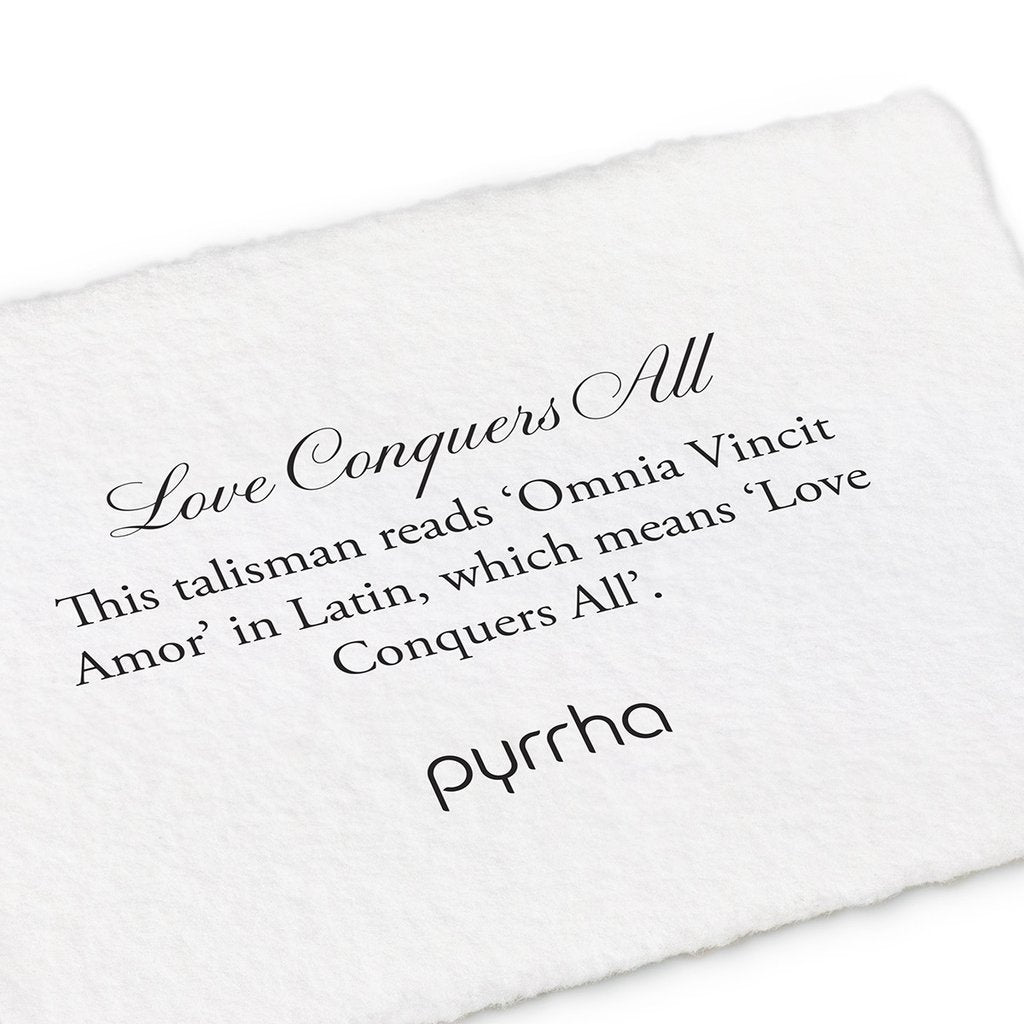 Love Conquers All Money Clip