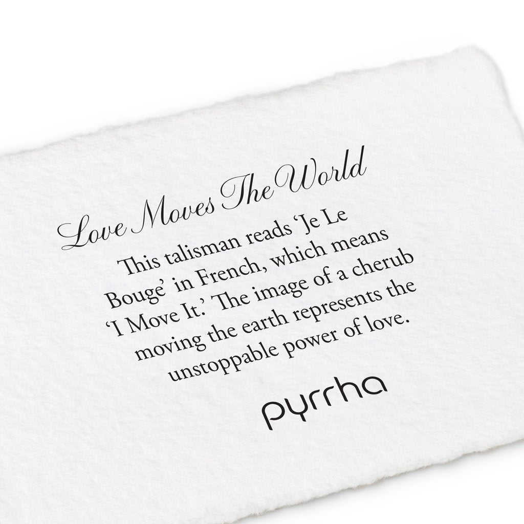 Love Moves the World Talisman