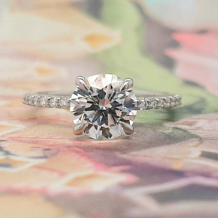 OOAK 1.52ct Lab Grown Solitaire Platinum Ring | Magpie JewelleryOOAK 1.52ct Lab Grown Solitaire Platinum Ring | Magpie Jewellery