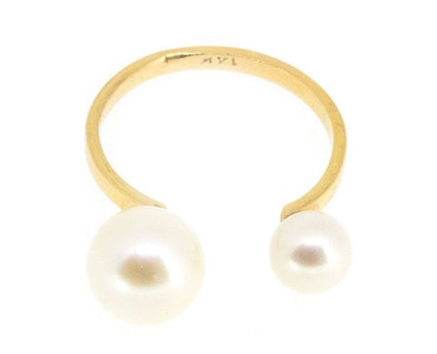 Open Pearl Ring
