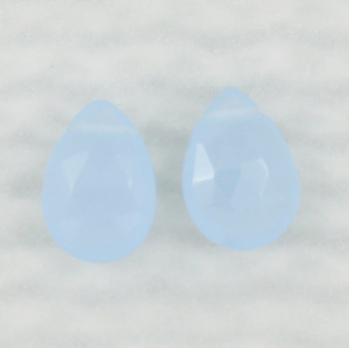 Gemstone Solo Earring | Magpie Jewellery | Periwinkle Chalcedony | Faceted