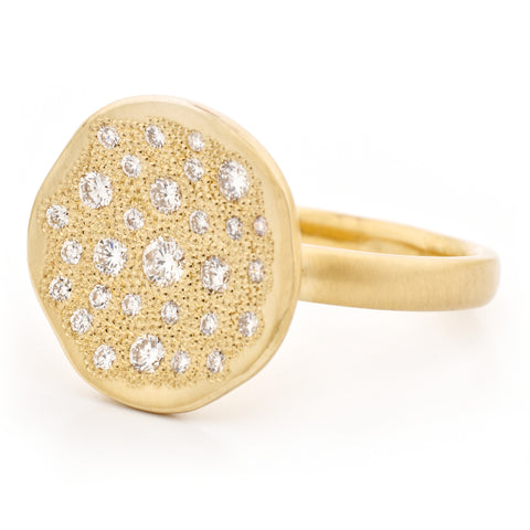 Diamond 'Stardust' Ring