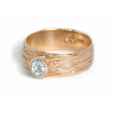 Sea Sand Diamond Ring
