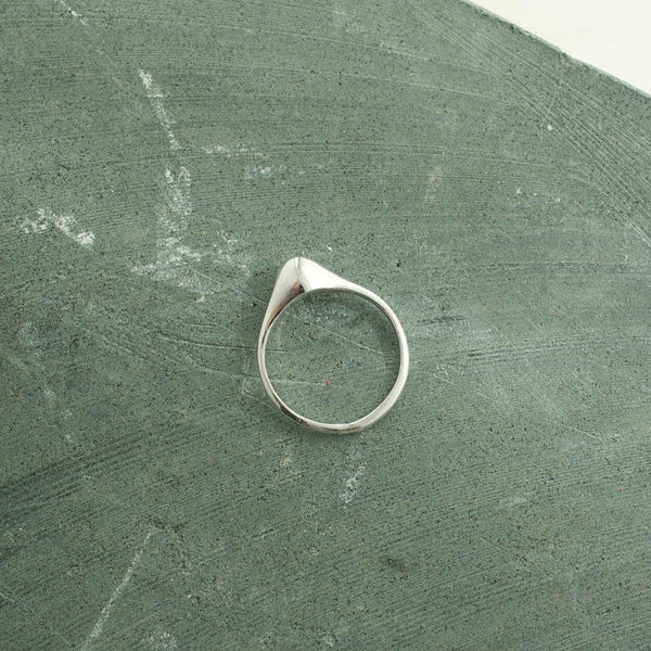 Overgrown Signet | Magpie Jewellery-Silver