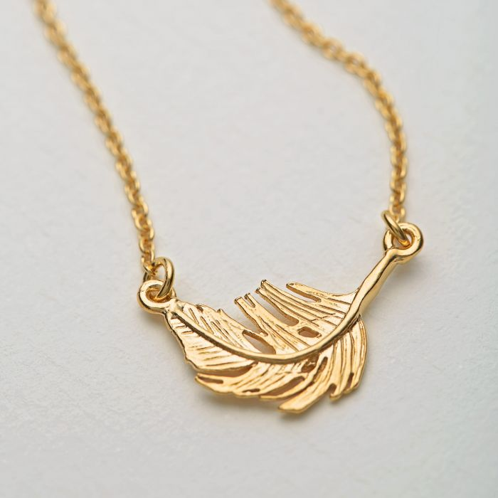 Little Feather Necklace | Magpie Jewellery