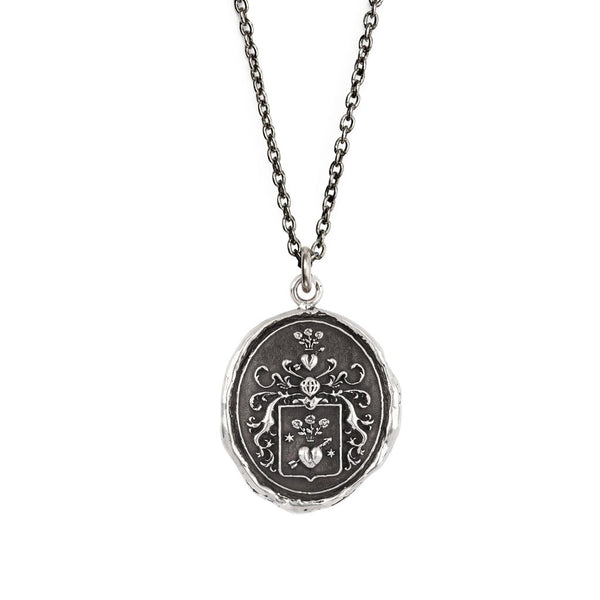True Love Talisman Silver Chain | Magpie Jewellery