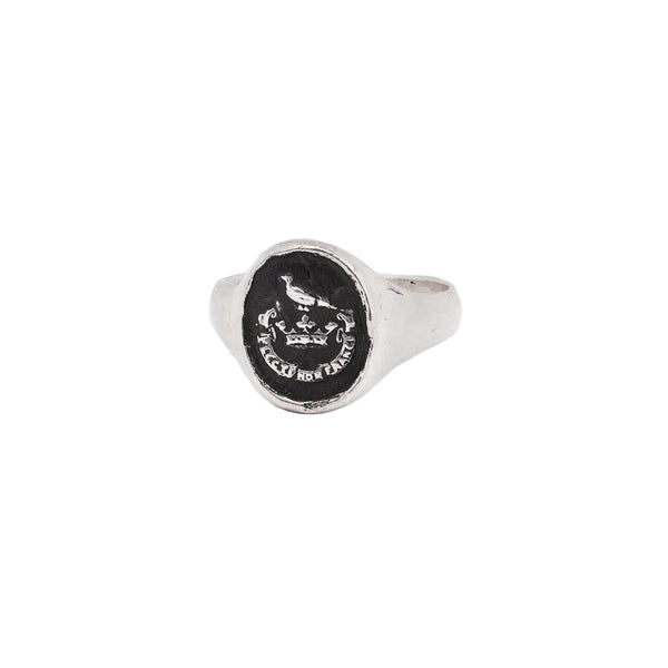 Unbreakable Signet Ring | Magpie Jewellery