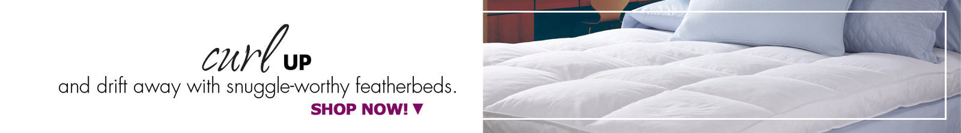 Luxe & Luna™ Featherbeds