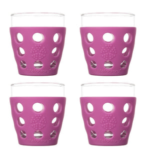 Lifefactory 10 oz. Beverage Glass With Silicone Sleeves (54797172741)