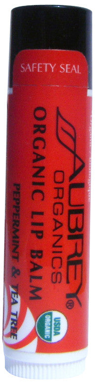 Aubrey® Organic Lip Balm - Peppermint & Tea Tree (140851747)