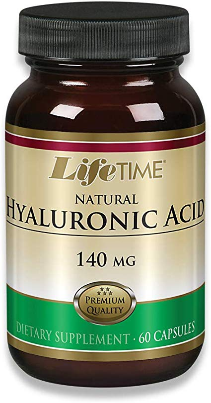 Hyaluronic Acid, 140 mg / 60 capsules