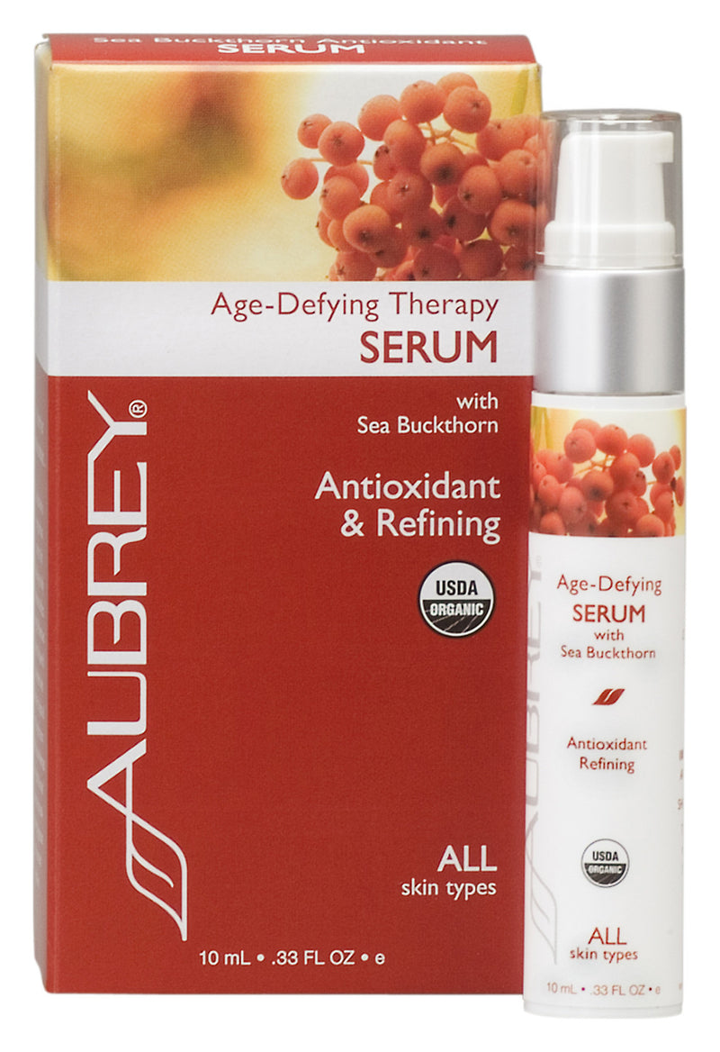 100% Organic! Aubrey® Age-Defying Therapy Serum