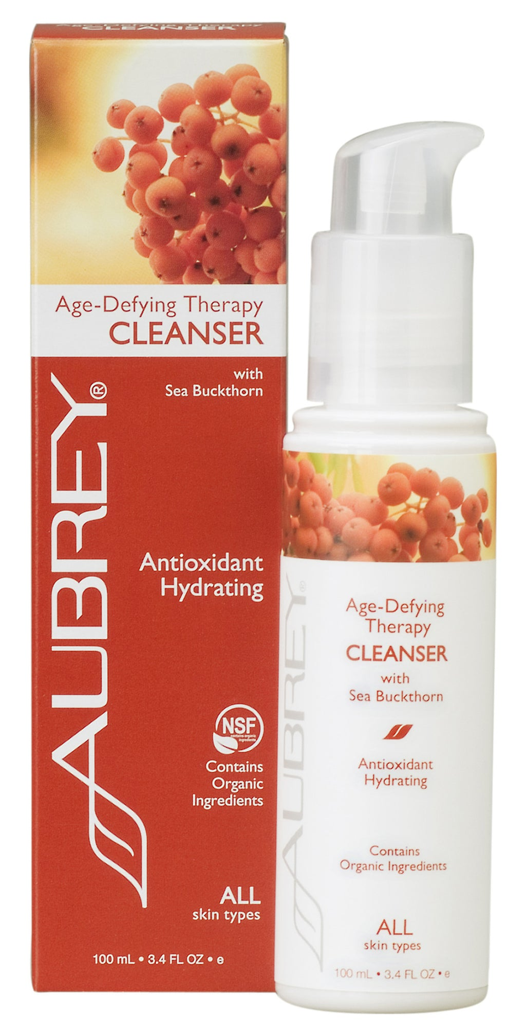 Feature in Parade Magazine! Aubrey® Age-Defying Therapy Cleanser