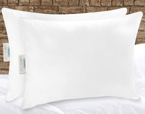 The Perfect Pillow™ by Luxe & Luna™ — Standard. It's the best pillow you'll ever sleep with. Pure luxury Made In America down and feather pillow. Oeko-Tex® Certified outer shell. Responsibly sourced down.  (1536082444347)