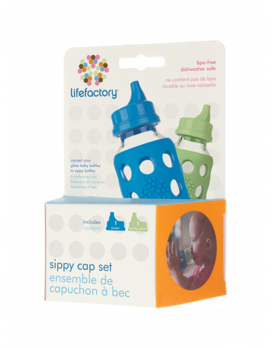 Lifefactory Sippy Cap Set 2-pack