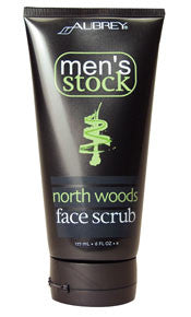 Aubrey® Men's Stock North Woods Face Scrub 6oz