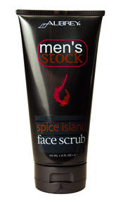 Aubrey® Men's Stock Spice Island Face Scrub 6oz (302635629)
