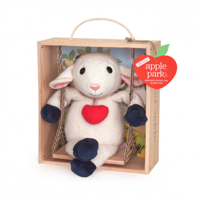 Apple Park® Lamby Picnic Pal Swinging In Crate