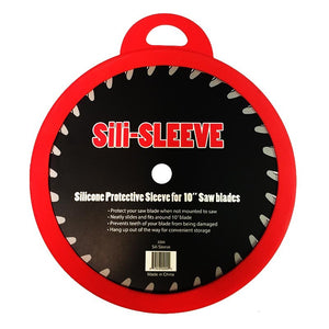 "Silicone Protective Sleeve for 10"" Saw Blades"