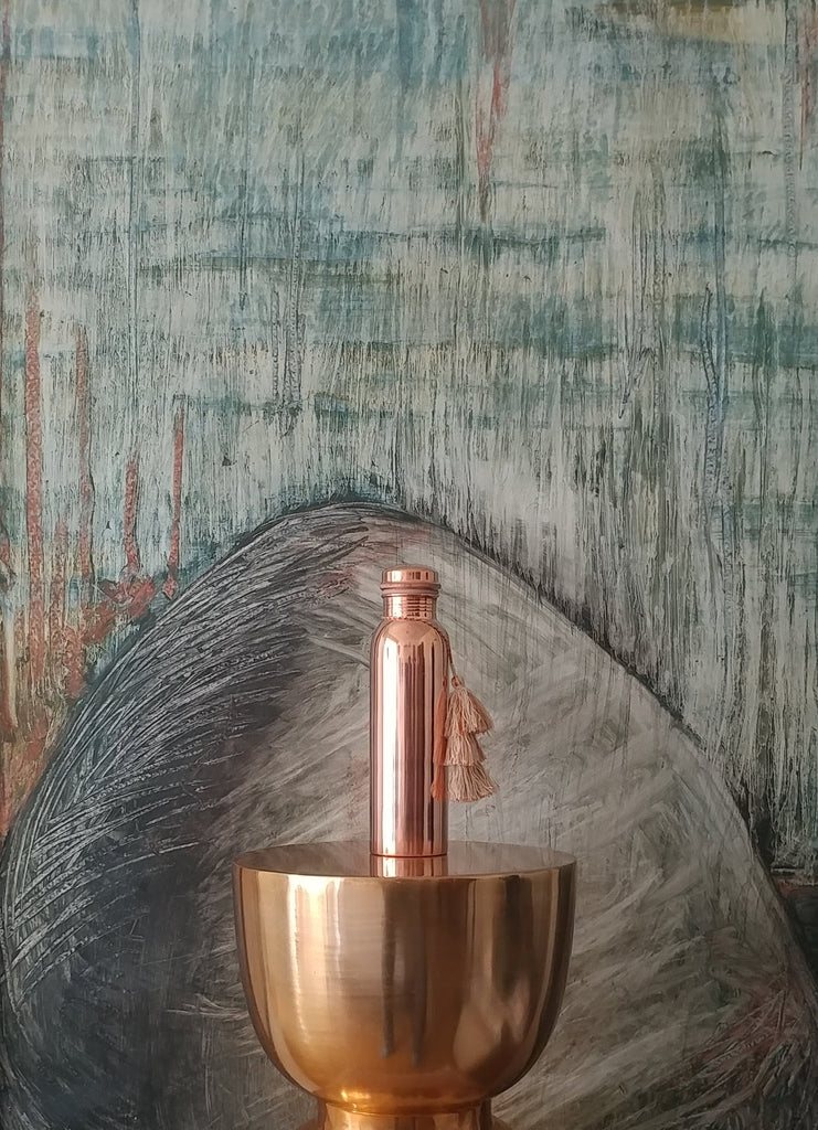 Tamra  Ayurvedic  Copper  Water  Bottle