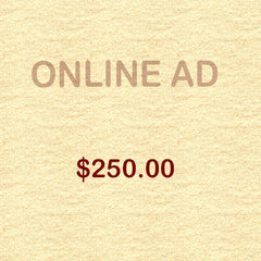 Online Ad - Supporter $250.00