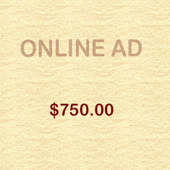 Online Ad - Grower - $750.00