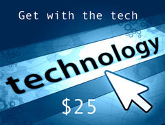 Get With The Tech $25