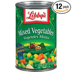 Mixed Vegetables (canned)