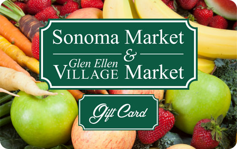 $100 Sonoma Valley Fire Relief Gift Card