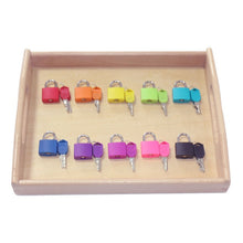 Load image into Gallery viewer, Wooden Tray Locks - Educational Sensory Toys (10 Locks)