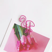 Load image into Gallery viewer, 12Pcs Flamingo Paper Clip