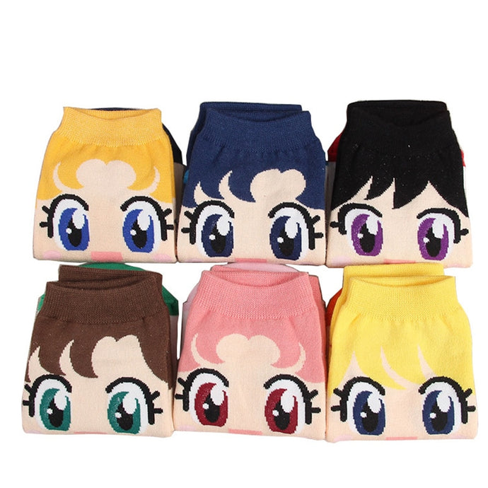 Girls cotton socks - Inspired by Sailor Moon