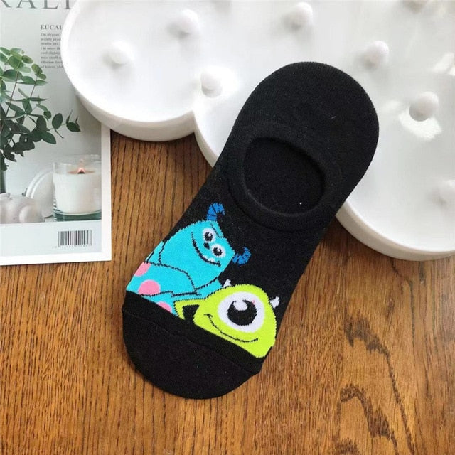 Gorgeous Disney inspired socks - Monsters...