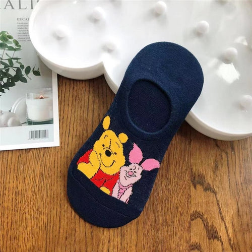Gorgeous Disney inspired socks - Winnie and Piglet