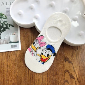 Gorgeous Disney inspired socks - Donald and Daisy