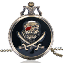 Load image into Gallery viewer, Vintage Pirates - Pocket Watch