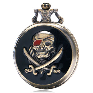 Vintage Pirates - Pocket Watch