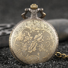 Load image into Gallery viewer, Vintage Bronze Pirate - Pocket Watch