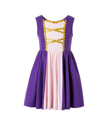 Princess inspired dresses - Rapunzel