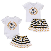 Load image into Gallery viewer, Little Sister shirt and Skirt set