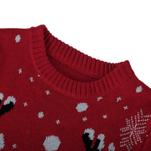 Load image into Gallery viewer, Ugly Christmas Jumper - Red reindeer Small - 4XL