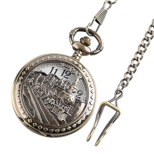 Train - Pocket Watch (Various designs)