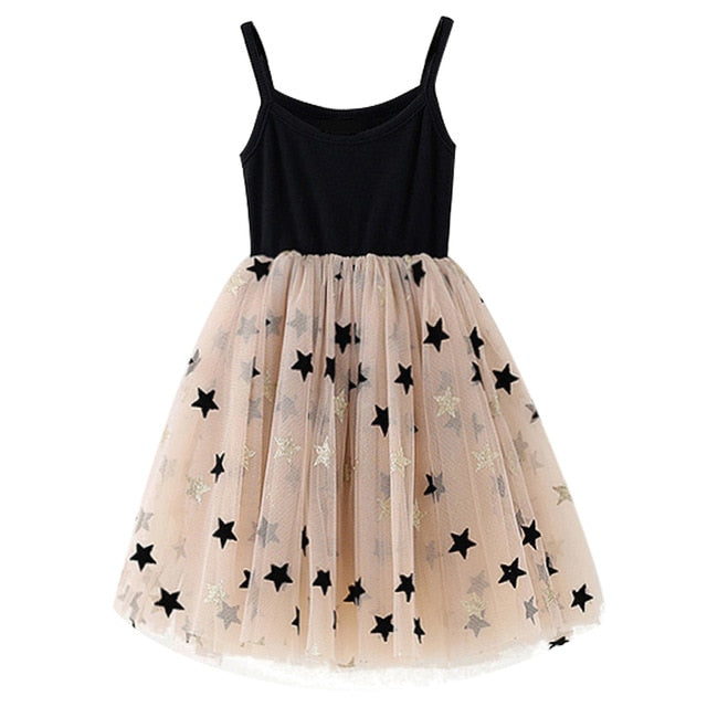 Black dress with Tutu Lace - Size 3 - 8