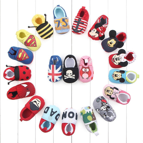 Baby Shoes First Walkers Various Cartoon design