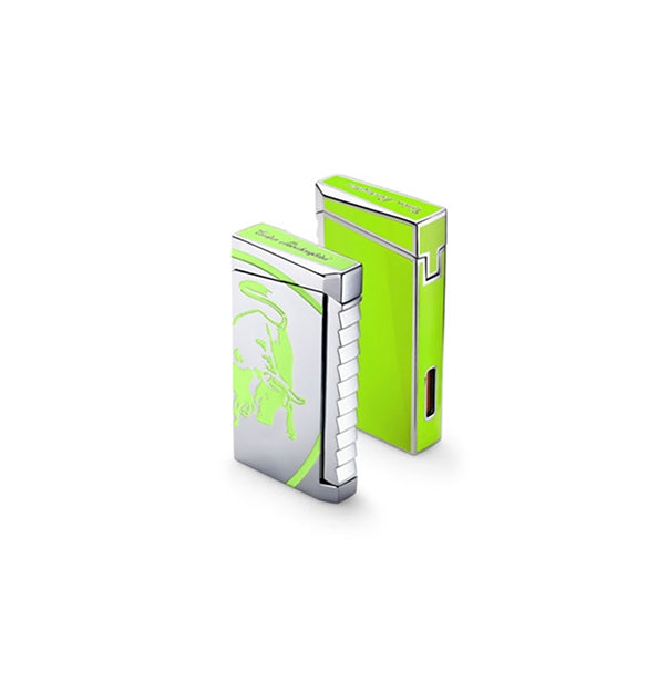 Tonino Lamborghini Il Toro Green Torch Flame Lighter