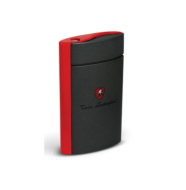Tonino Lamborghini ONDA Torch Flame Lighter - Red Matte